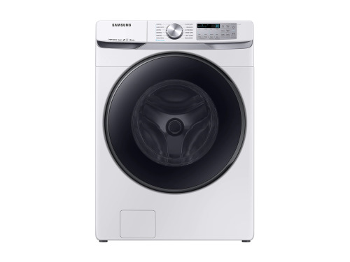 Samsung WF8500 5.0 cu. ft. Smart Front Load Washer with Super Speed in White