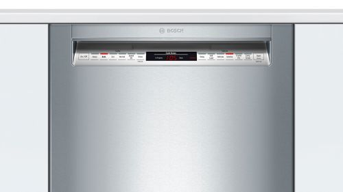 "Model: SHE878ZD5N | Bosch 24"" 800 Series Recessed Handle Dishwasher"