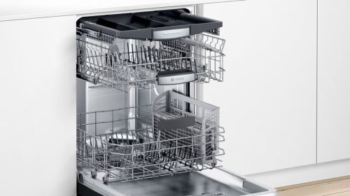 "Model: SHEM78Z56N | Bosch 24"" 800 Series Front Controls Dishwasher"