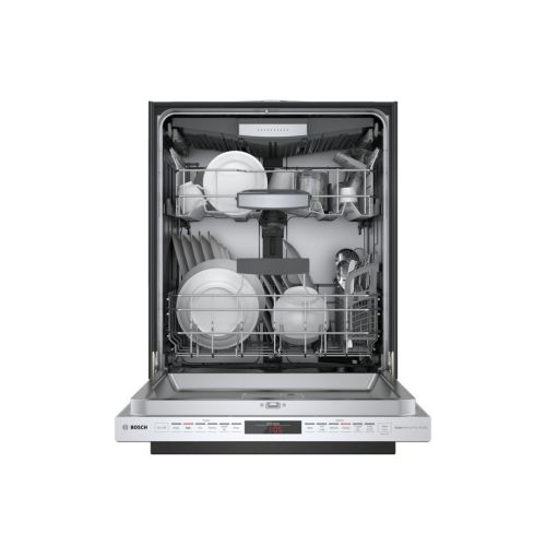 "Model: SHP878ZD5N | Bosch 24"" 800 Series Pocket Handle Dishwasher"