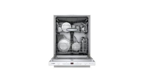 "Model: SHPM65Z52N | Bosch 24"" 500 Series Pocket Handle  Dishwasher"