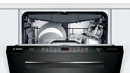 "Model: SHPM65Z56N | Bosch 24"" 500 Series Pocket Handle  Dishwasher"
