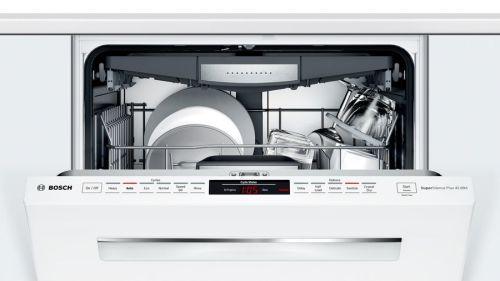 "Model: SHPM78Z52N   Bosch 24"" 800 Series Pocket Handle Dishwasher"