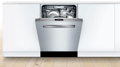 "Model: SHPM88Z75N | Bosch 24"" Series 800 Pocket Handle Dishwasher"
