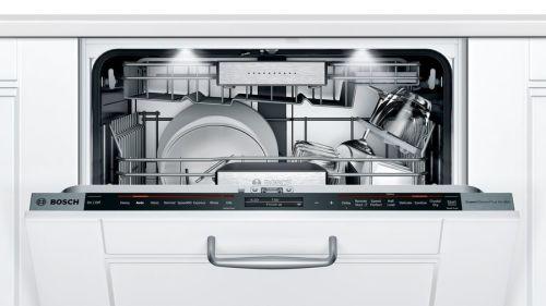 "Model: SHV88PZ63N | Bosch Benchmark  24""Custom Panel Dishwasher"