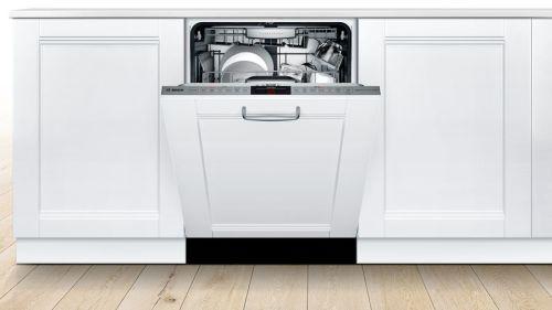 "Model: SHVM88Z73N   Bosch 24"" Series 800 Panel Ready Dishwasher"