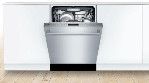 "Model: SHX878ZD5N | Bosch 24"" 800 Series Bar Handle Dishwasher"