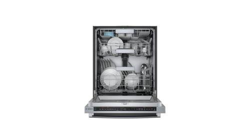 "Model: SHX88PZ65N | Bosch 800 Series Benchmark 24"" Bar Handle Dishwasher"