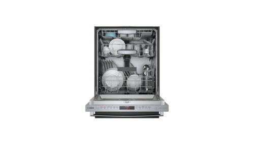 "Model: SHXM88Z75N   Bosch 24"" Series 800 Bar Handle Dishwasher"