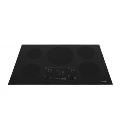 36in Induction Cooktop in Black with 5 Elements