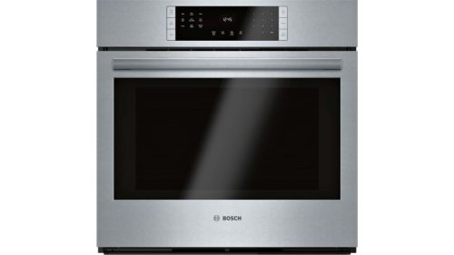 Bosch 800 Series Single Wall Oven 30'' Stainless steel