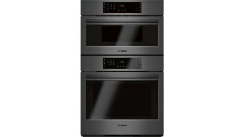 Model: HBL8743UC | Bosch 800 Series Combination Oven 30'' Black stainless steel