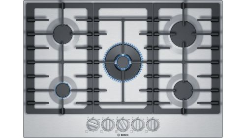 Bosch 800 Series Gas Cooktop 30'' Stainless steel