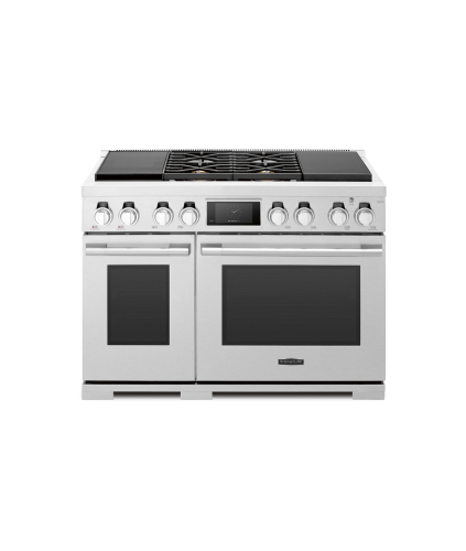 Signature Kitchen Suite by LG  48-inch Dual-Fuel Pro Range with Sous Vide and Induction