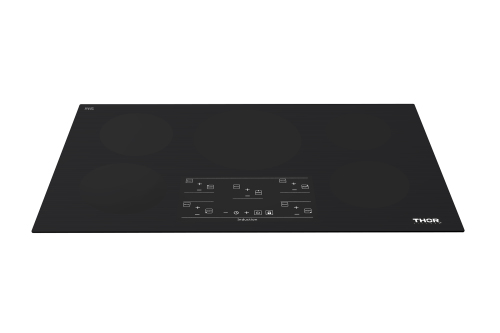 Thor 36in Induction Cooktop in Black with 5 Elements
