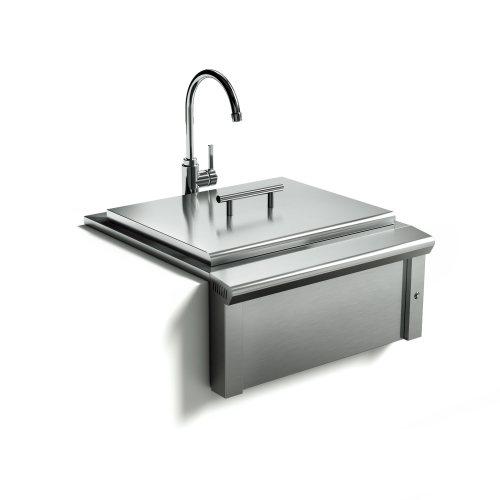 Model: XOG24SINK | XO Appliances 24 in Apron Sink and Faucet