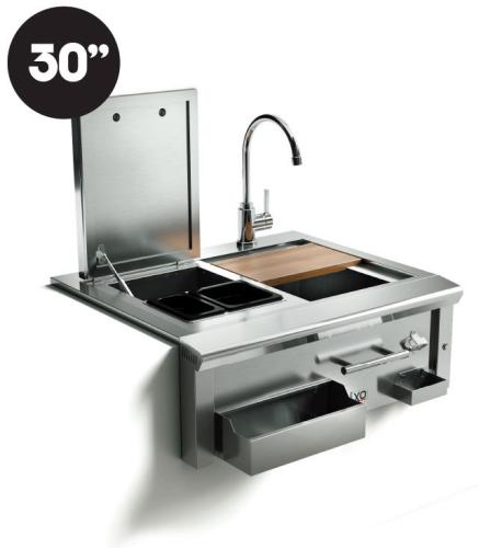"Model: XOG30BARPRO | XO Appliances 30 "" Cocktail Pro Station with Sink"