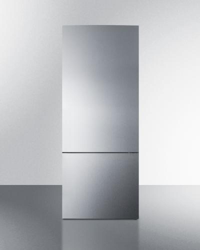"""Summit 28"""" Wide Bottom Freezer Refrigerator"""