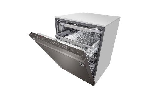 Model: LDP7808BD | LG Top Control Dishwasher with QuadWash™ and TrueSteam®