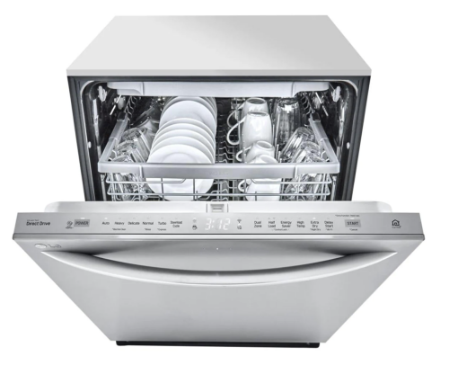 Model: LDT5678SS | LG Top Control Smart wi-fi Enabled Dishwasher with QuadWash™