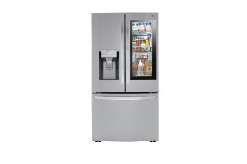 Model: LRFVC2406S | LG LG Counter Depth French Door Refrigerator