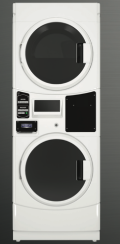 Commercial Electric Stack Washer/Dryer