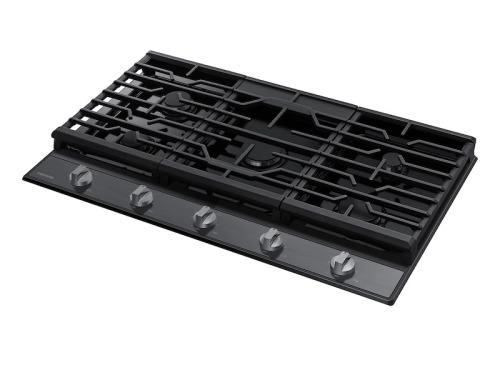 "Model: NA36R5310FG | Samsung 36"" Gas Cooktop"