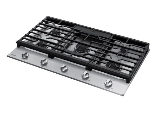 "Model: NA36R5310FS | Samsung 36"" Gas Cooktop"