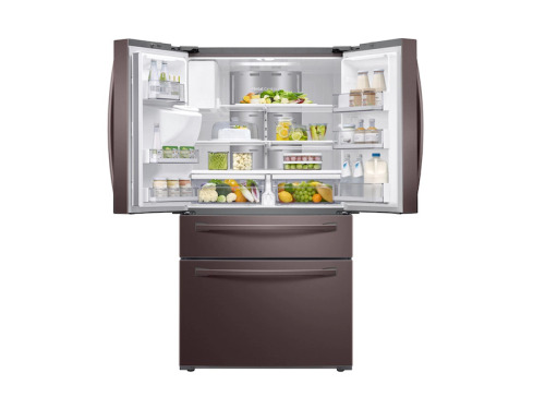 Model: RF22R7551DT | Samsung French Door, Counter Depth Refrigerator with Family Hub
