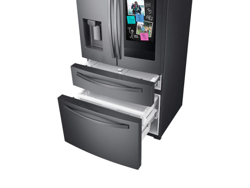 Model: RF22R7551SG | Samsung French Door Refrigerator, Counter Depth  with Family Hub™