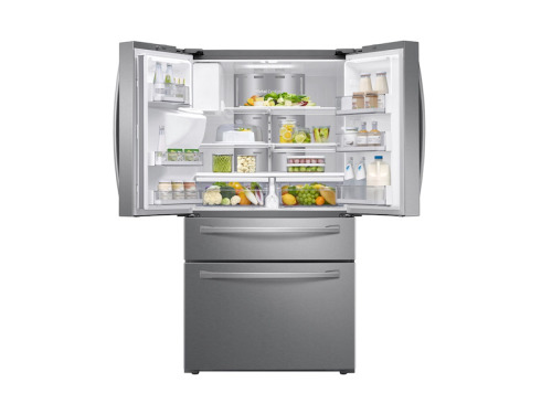 Model: RF28R7551SR | Samsung French Door Refrigerator with Family Hub™