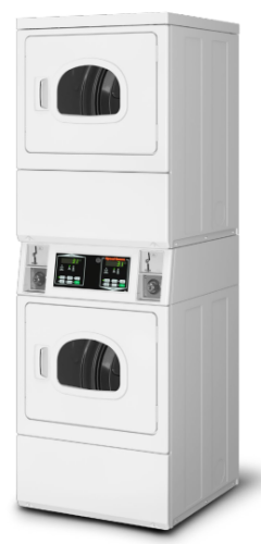 Speed Queen Commercial Stack Electric Dryer - 240 Volt