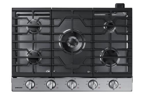 "Model: NA30N6555TS | Samsung 30"" Gas Cooktop"
