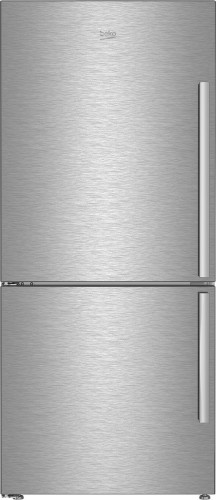 "Beko 30"" Freezer Bottom Stainless Steel Refrigerator with Auto Ice Maker (Left Hinge)"
