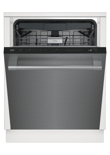 Beko Tall Tub Stainless Dishwasher with Water Softner