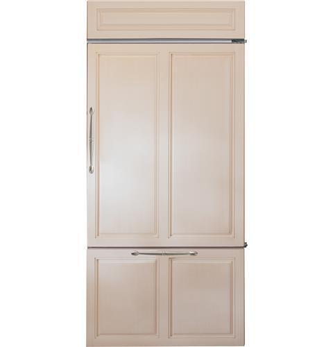 "Model: ZIC360NNRH   Monogram Monogram 36"" Built-In Bottom-Freezer Refrigerator"