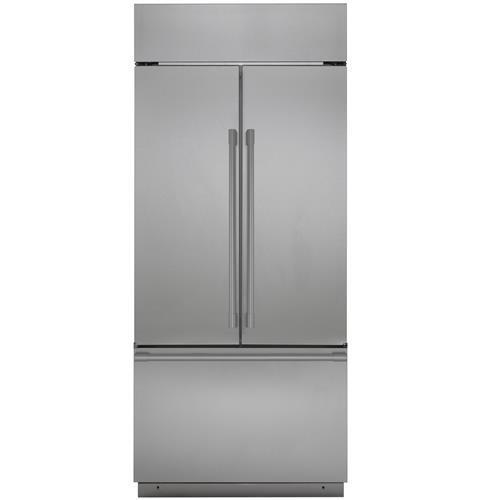 """Monogram Monogram 36"""" Built-In French-Door Refrigerator"""