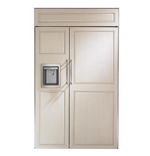"Monogram Monogram 48"" Smart Built-In Side-by-Side Refrigerator with Dispenser"
