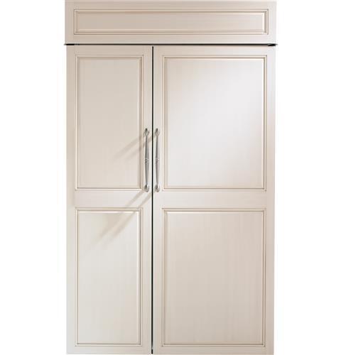 "Monogram Monogram 48"" Smart Built-In Side-by-Side Refrigerator"