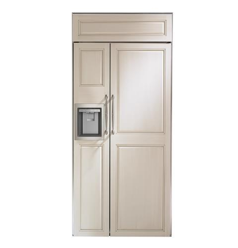 "Monogram Monogram 36"" Smart Built-In Side-by-Side Refrigerator with Dispenser"