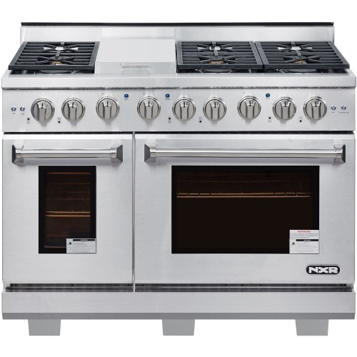 "NXR Products 48"" Culinary Series Gas Range"