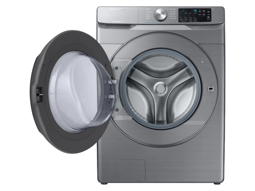 Model: WF45R6100AP | Samsung 4.5 cu. ft. Front Load Washer with Steam