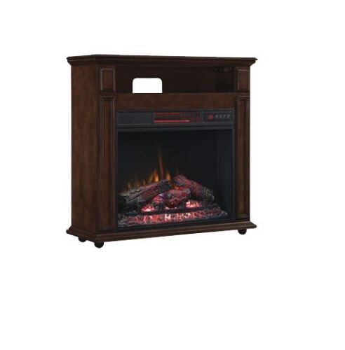 Duraflame Rolling Mantel with Infragen™ Electric Fireplace
