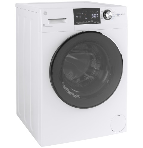 "Model: GFQ14ESSNWW | GE GE® 24"" 2.4 cu. ft.Capacity Front Load Washer/Condenser Dryer Combo"