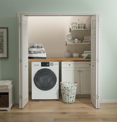 "Model: GFQ14ESSNWW   GE GE® 24"" 2.4 cu. ft.Capacity Front Load Washer/Condenser Dryer Combo"