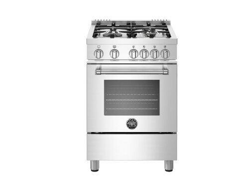 "Bertazzoni NEW!  24"" Master Series range - Gas oven - 4 aluminum burners"