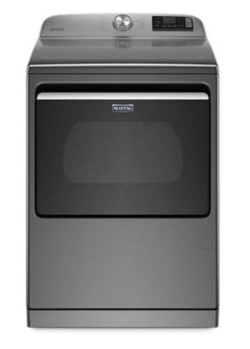 Maytag Smart Capable Top Load Gas Dryer with Extra Power Button - 7.4 cu. ft.