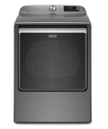 Maytag Smart Capable Top Load Gas Dryer with Extra Power Button - 8.8 cu. ft.