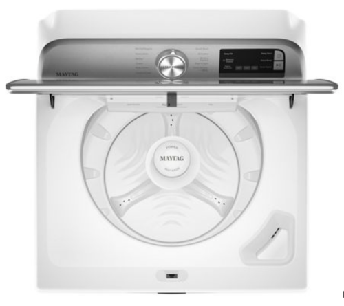 Model: MVW6230HW | Maytag Smart Capable Top Load Washer with Extra Power Button - 4.7 cu. ft.