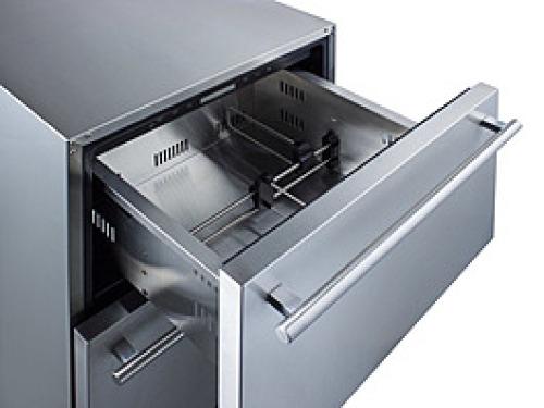 "Model: ADRD24 | Summit 24"" Wide 2-Drawer All-Refrigerator"